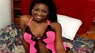 Black Hottie With Perfect Tits Pounded Part3