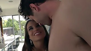 Teal Conrad And Mckenzie Lee Ass To Mouth On The Couch