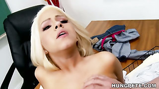 Cami Cole On Peter North's Big Dick