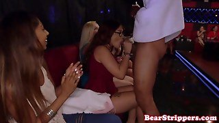Amateur Glam Girlfriends Try A Black Cock