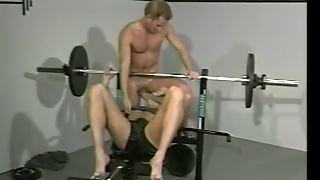Hot Blowjob In Gym