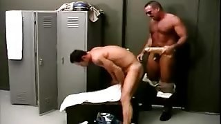 Gay Bears Playing With A Dildo