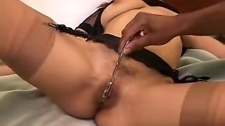 Bounded Wife Humiliated By Darksome Dude..hubby Watches