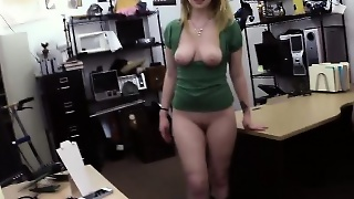 Chick With Big Tits Gets Banged In The Office
