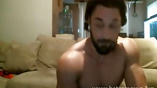Bearded, Dude, Gaymuscle, Bearded Gay, Gay Dude, Gay Bearded, Gaycam, Gay On Cam