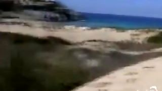 Voyeur 3, Masturbation On The Beach