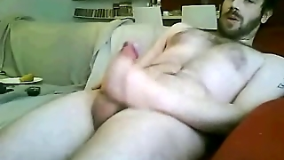 Masturbating On Webcam
