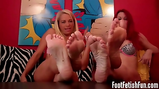 Suck Our Toes Loser Foot Humiliation