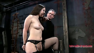 Curvaceous Russian Whore Charlotte Vale In Bdsm Sex Act