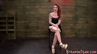 Strapon, Lezdom, Threesome, Dildo, Lesbian, Fetish, Mistress, Domination, Bondage, Fingering, Bdsm