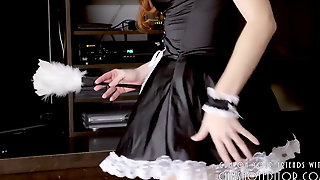 Young Submissive Maid Made To Please Cock