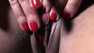 Major Big Clit Masturbation