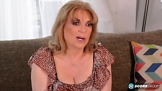 Old Granny Crystal Fucked With Stud