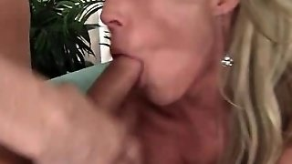 Three Cougars Eating And Fucking Teen Cock