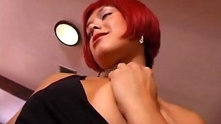 British Wench Nadia In A Solo Scene On A Table