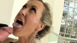 Booby Mature Brandi Throated And Banged By Monstercock