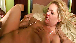 Girl With A Guy Fucked On The Bed