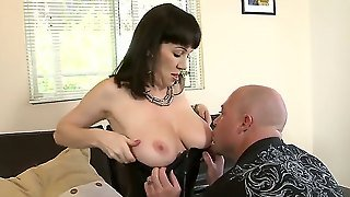 Wife Of One Man Sudenly Went To Work At Home Left Only Mother. Mother Was Not So Old And Very Sexy. Her Husband Decided Why Not To Fuck Her And They Fucked All Night. Enjoy It.