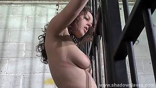 Female Prisoner Whipping And Harsh Bondage Punish