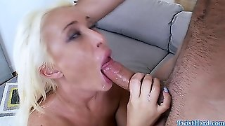 Big Titted Summer Brielle Gags On Dick