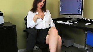 Masturbate, Big Mature Tits, Mom Secretary, Bigtits Masturbating, Mom With Her, Shaved Pussy Masturbation, Amateur Office Secretary, Bigpussy Orgasm