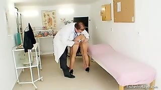 Sexy Skinny Teen In Medical Exam
