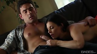 India Summer Blows Him And Sensually Sits On It