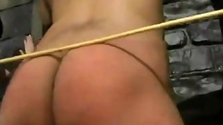Spanking In Female Domination Video With Bondage Action