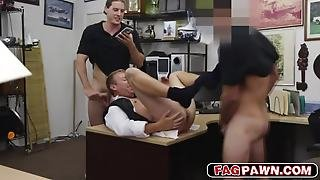 Guy In Tuxedo Gives Blowjob And Banged In The Ass