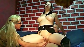 German Mom Teach Virgin Step Daughter How To Fuck With Guy