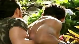 Outdoor Muscle Gay Sex