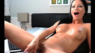 A Teen Brunette Machine Fuck