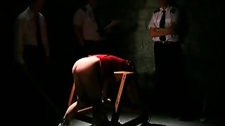 Caning In Prison