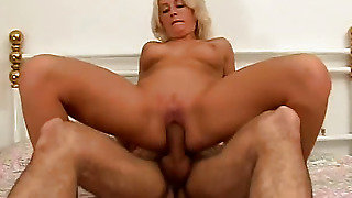 In His Soft Blonde Fucked Pussy