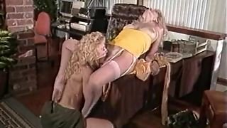 Nina Hartley Licks Her Lesbian Gf's Pussy And Lets Her Do The Same