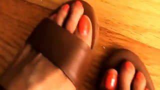 Dirty Talking And Foot Worship