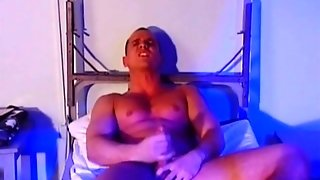 Muscle Stud Masturbation