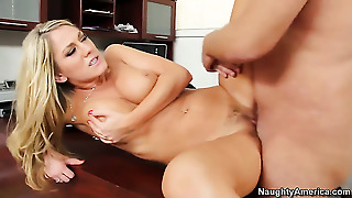 With Juicy Knockers And Hard Dicked Guy Alec Knight Have A Lot Of Sexual Energy To Spend