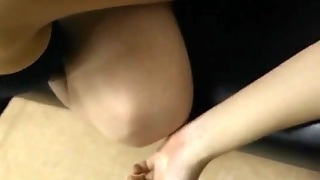 Rie Fucked With Vibrator At Medical Check