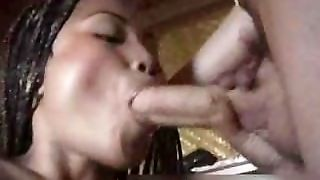 Bigass Ebony Girlfriend Giving A Hot Part3