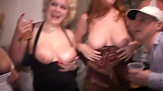 Redhead Party Fucking