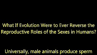 If Human Reproductive Roles Were Ever To Reverse - Cartoon Animation
