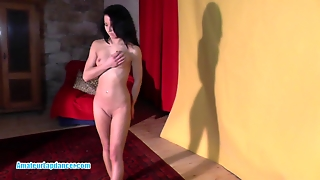 Petite 19Yo Chick Seducing A Horny Guy