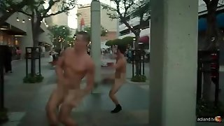 Naked Dancing In Public.