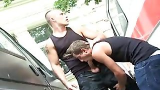 Hotties Suck Dick And Pound Ass Outside