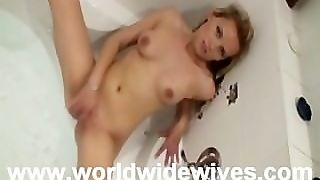 Hot Blonde Extremely Wet