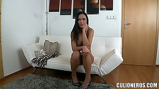 Here Is A Girl That You Have To See. Her Name Is Victoria Sweet And She Is About To Spread Her Long Legs In Order To Show Off Her Twat That Needs Ramming!