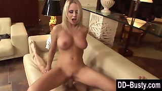 Natural Big Titted Slut Riding A Cock In Hd