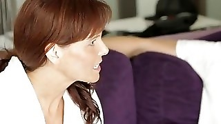 Moms Teach Sex - Horny Mom Teaches Stepdaughter How To Fuck