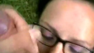 Sticky Facial For The Glasses Wife Outdoors